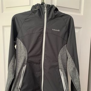 Grey work out jacket